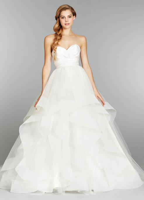 Blush Hayley Paige Londyn Wedding Gown