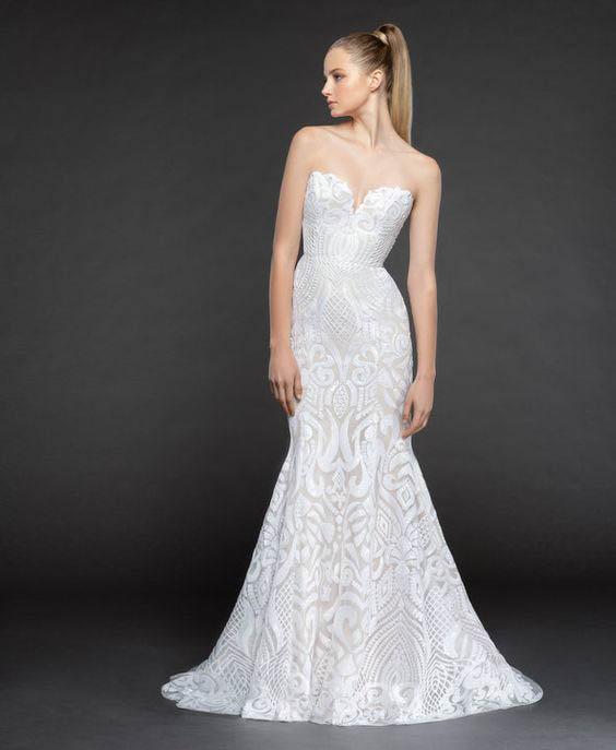 Blush Hayley Paige Safyr Wedding Dress