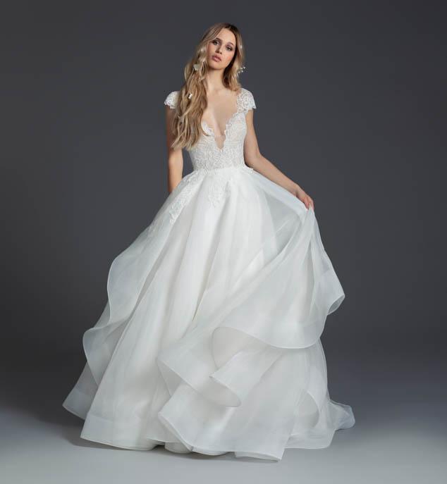 Blush Hayley Paige Willow Wedding Dress
