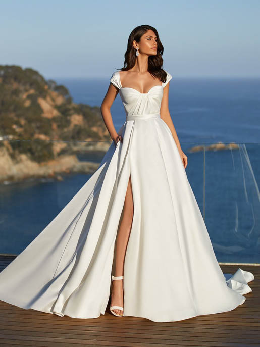 Pronovias Dominique Wedding Gown